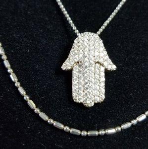 Jewelry - Hamsa pendant.